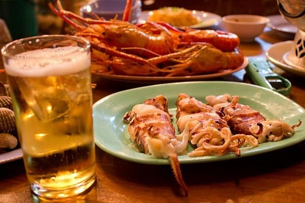 泰國夜市美食只看圖不說話