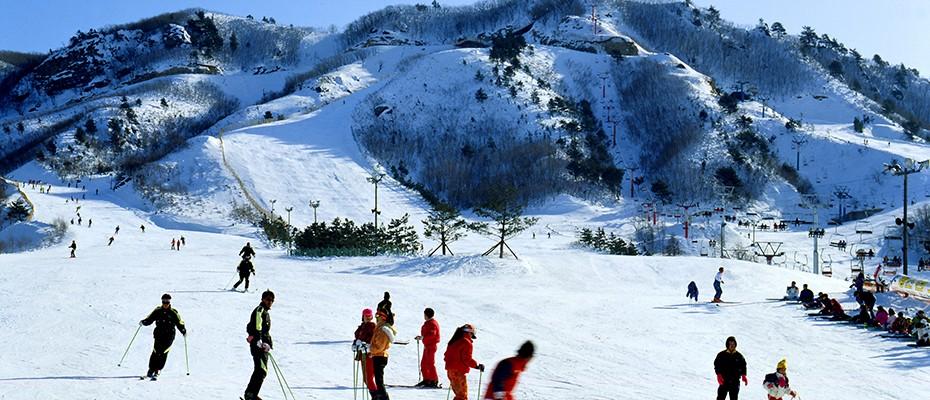 韓國仁川機場出發單線滑雪場租車,仁川機場到滑雪場租車,仁川機場到滑雪場包車
