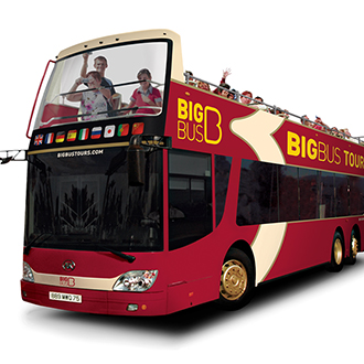 香港大巴士Big Bus Tour夜遊車票(電子票)