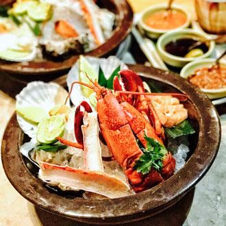 澳門悅榕庄尙坊正宗泰式料理海鲜套餐