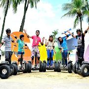 新加坡聖淘Go Green Segway思維車探險之旅
