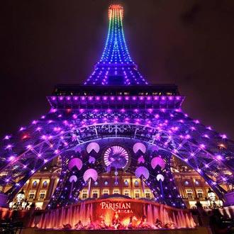 澳門巴黎人酒店住宿優惠套票(含自助餐+巴黎鐵塔+小禮品)
