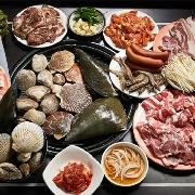 首爾新村海神無限海鮮烤肉自助餐