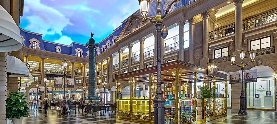 澳門巴黎人購物中心品牌一覽