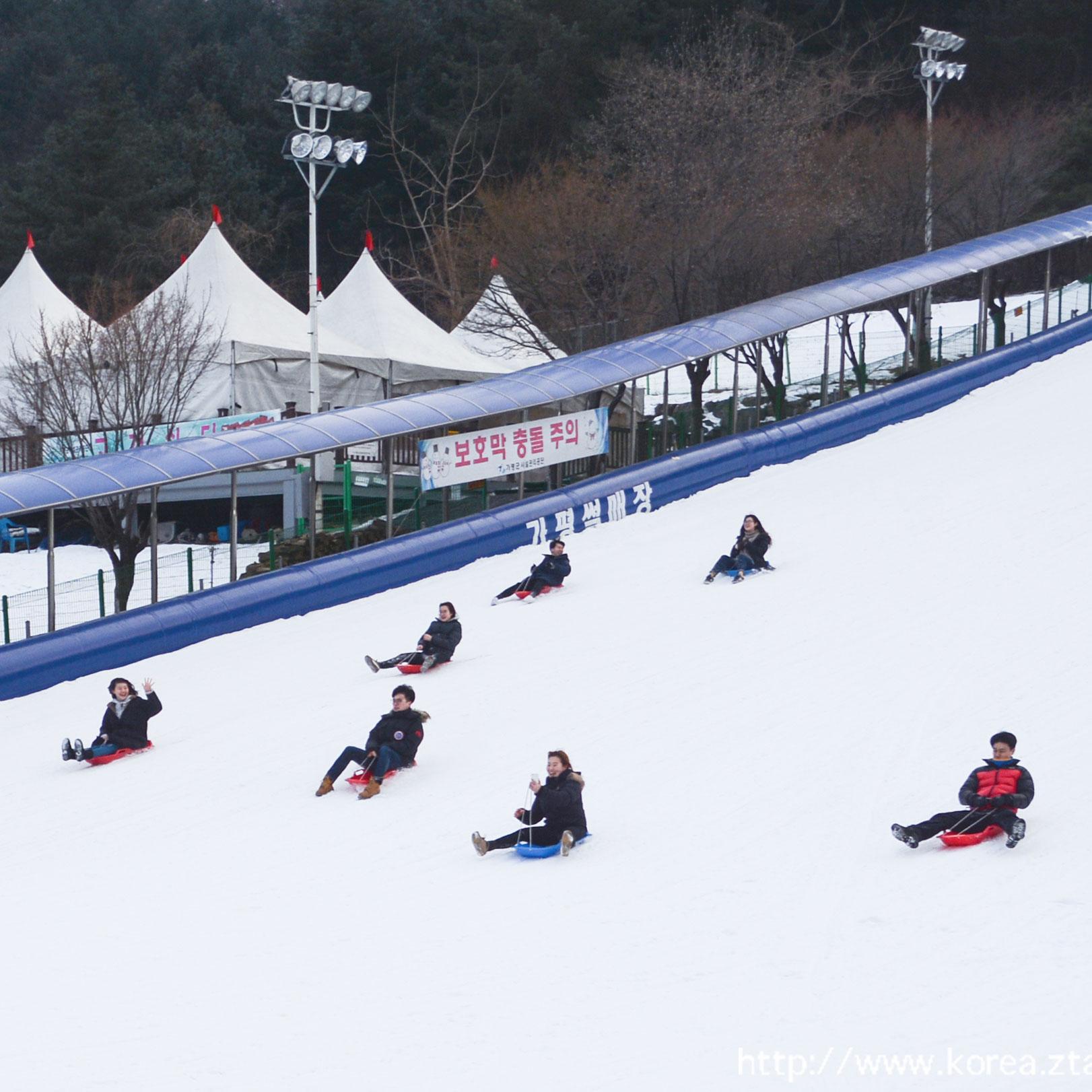 韓國南怡島+室外雪橇暢玩+採摘草莓一天團