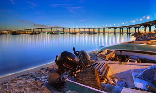 科羅納多灣跨海大橋<br>        Coronado Bridge