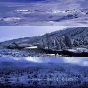 達古冰川景區