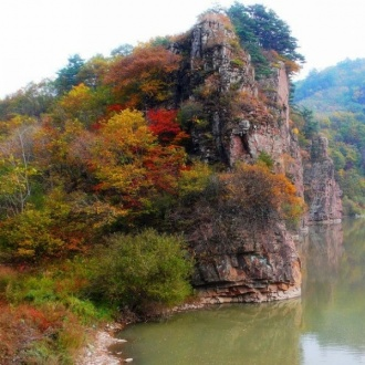 遼寧本溪老邊溝風景區