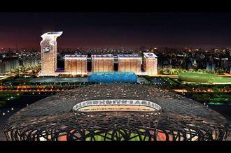 八達嶺長城—奧林匹克公園—藍色港灣